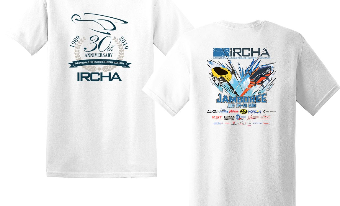 Additional 2019 IRCHA Jamboree Event T-Shirt (to be picked up at the event)
