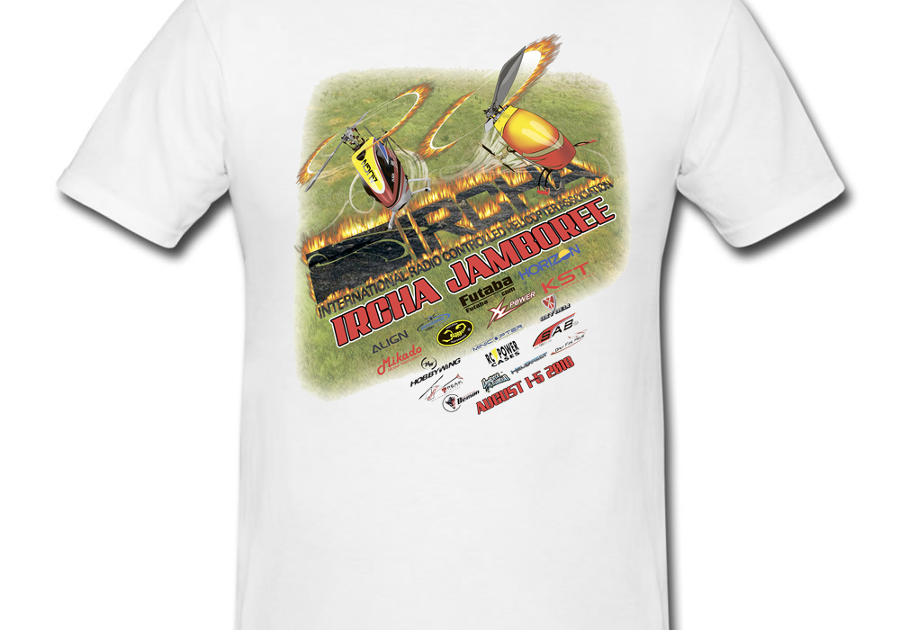 2018 IRCHA Jamboree Event T-Shirt