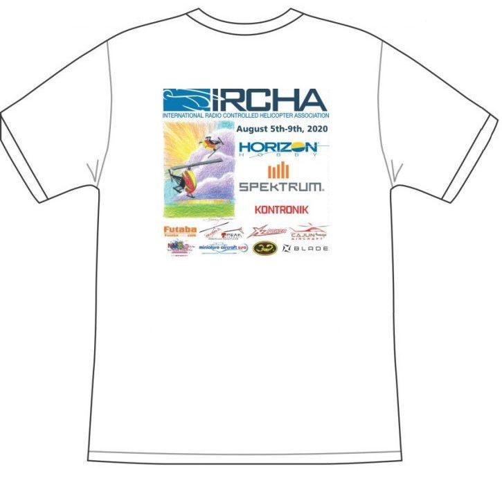 2020 IRCHA Jamboree Event T-Shirt